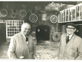 2. Previous owner George Leatt and an unidentified gent