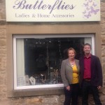 Sue and Gary - owners of Butterflies, 7 Albert Street
