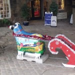 Christmas has arrived at High Corn Mill in Skipton