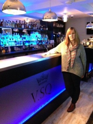 Lorraine Forshaw owner of the V.SQ bar 2